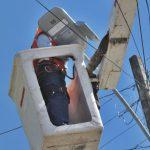 Municipio cauquenino concreta recambio y mantención de luminaria pública