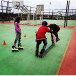 Pelluhue cuenta con taller gratuito de patinaje