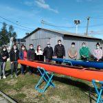 Modernas embarcaciones entregó IND a Equipo Juvenil de Canotaje de Constitución